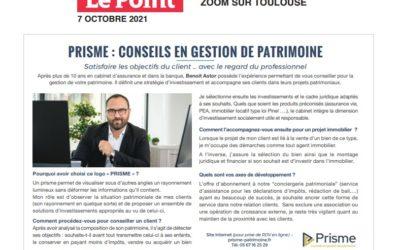On parle de Prisme dans le Point spécial Toulouse